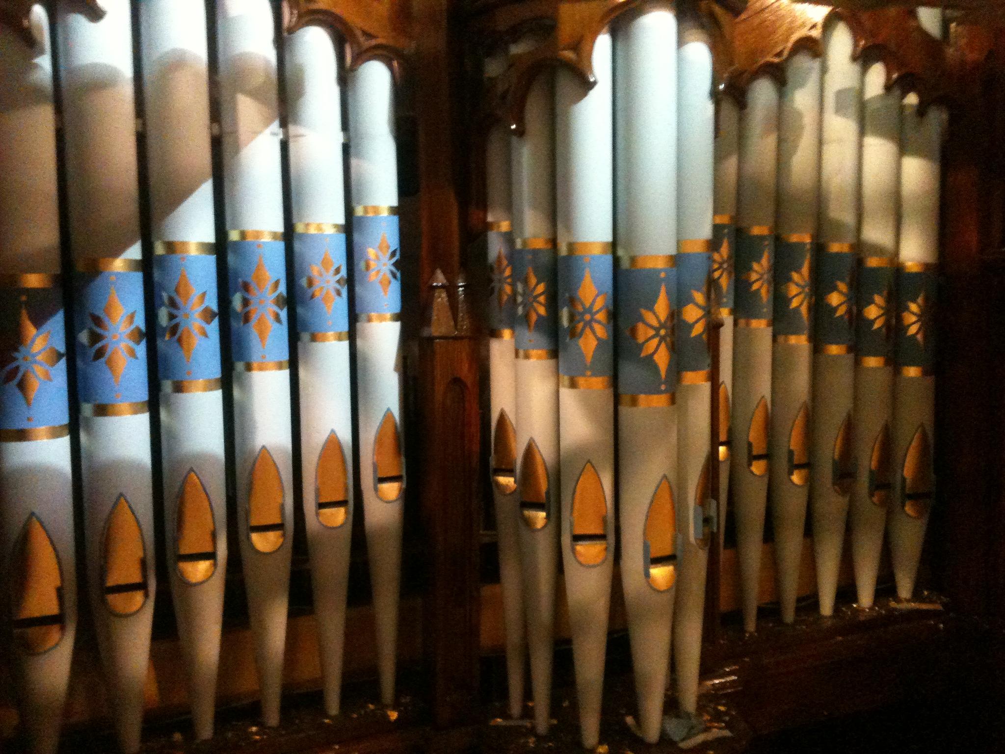 Organ Pipes Clonard Monastery, Belfast