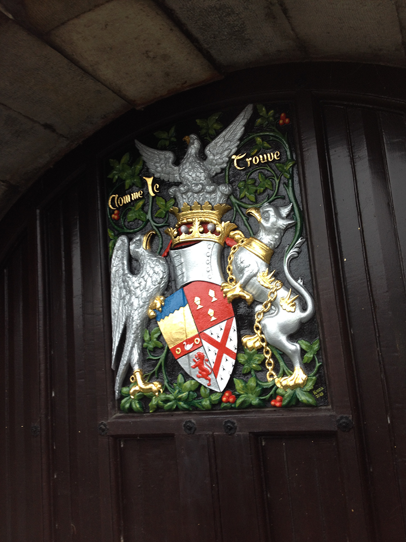 Kilkenny Castle coat of arms
