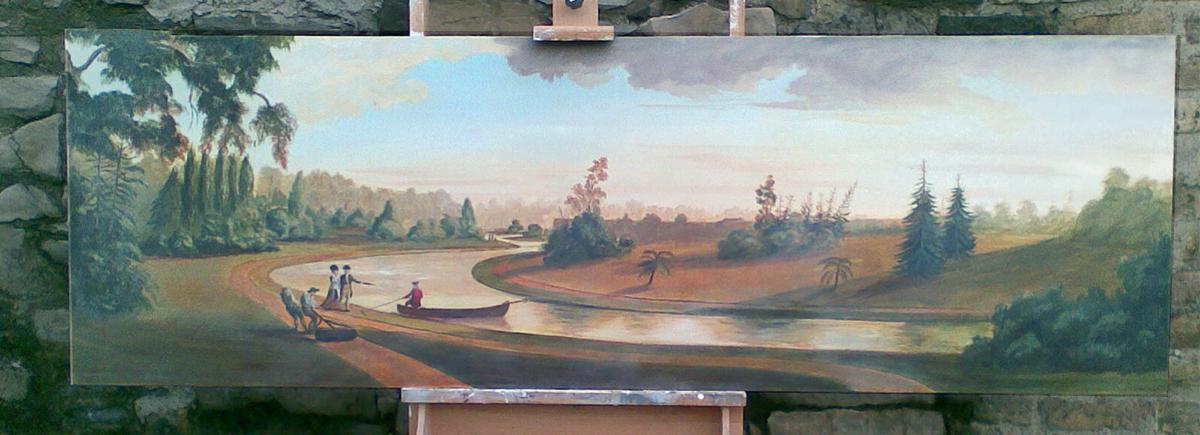 18th Century Style Liffey Scene