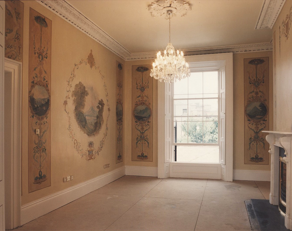 Restored Rooms in Georgian Dublin